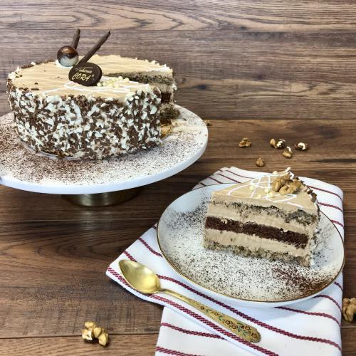 Tort orzechowo-czekoladowy